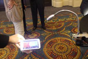 OLEDCOMM shows Li-Fi, 10mbitps Internet by Light