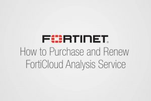How to Upgrade and Renew FortiCloud Subscription