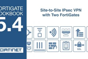 FortiGate Cookbook – Site-to-Site IPsec (5.4)
