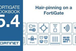 FortiGate Cookbook – FortiGate Hair-pinning (5.4)