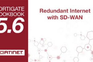 FortiGate Cookbook – Redundant Internet with SD-WAN (5.6)