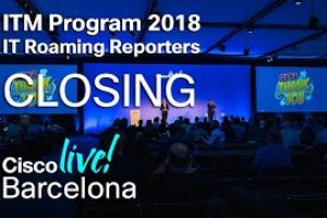 ITM Program Cisco Live Barcelona 2018 – Closing