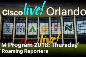 ITM Program CLUS Orlando 2018 | Thursday