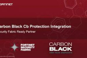 Fortinet Fabric Ready: FortiSandbox and Carbon Black Integration Demo