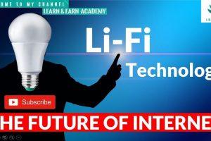 Li-Fi Technology    The Future of Internet   
