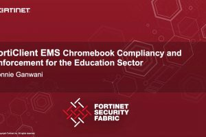 FortiClient EMS Chromebook For Education