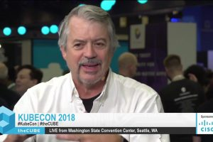 Lew Tucker, Cisco – live on theCUBE at KubeCon
