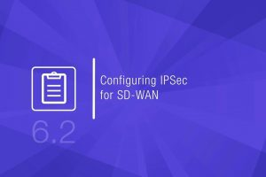 Configuring IPSec for SD-WAN