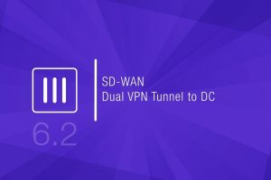 SD-WAN: Dual VPN Tunnel to Data Center