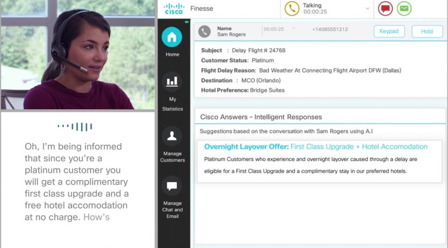 Cisco Contact Center – watch Cisco Answers in action