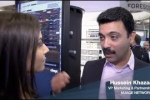Interview with Hussein Khazaal of Nuage Networks | RSAC 2019