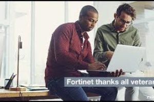 Thanking Our Veterans | Fortinet FortiVet Program