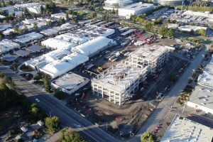 New Fortinet Global Headquarters Drone Flyover | Part 10 | Building Frame Nearly Complete