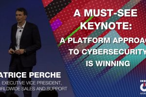 Patrice Perche: A Platform Approach to Cybersecurity is Winning | Accelerate 2020