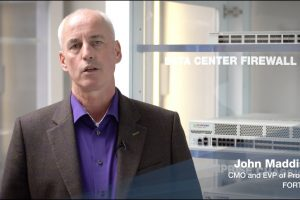 Fortinet's John Maddison LIVE | FortiOS 6.4 | FortiGate 1800F & NP7