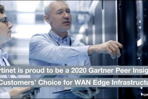 Fortinet Named a 2020 Gartner Peer Insights Customers' Choice for WAN Edge Infrastructure | SD-WAN