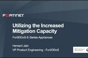 FortiDDoS Increased Mitigation Capacity Demo | Product Demo
