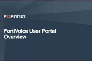 FortiVoice User Portal Demo | Product Demo