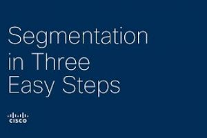 Segmentation in three easy steps