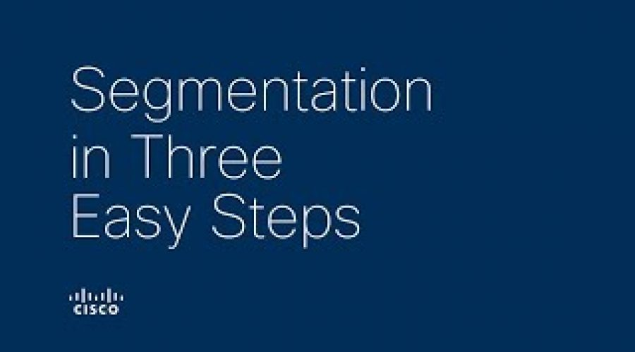 Segmentation in three easy steps