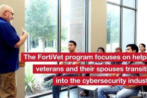 NSE Training Institute's Veterans Program | FortiVet
