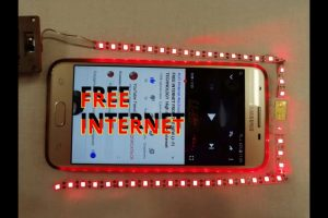 FREE INTERNET ON ANY SIM CARD FROM THE NEW LI FI TECHNOLOGY