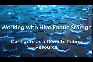 Hive Fabric CE Storage Optimization