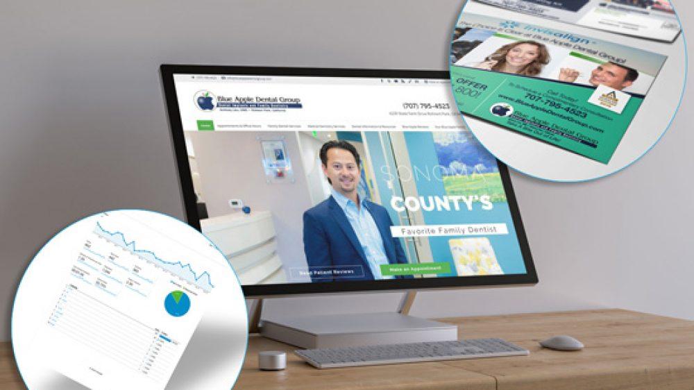 Blue Apple Dental Group Website Design