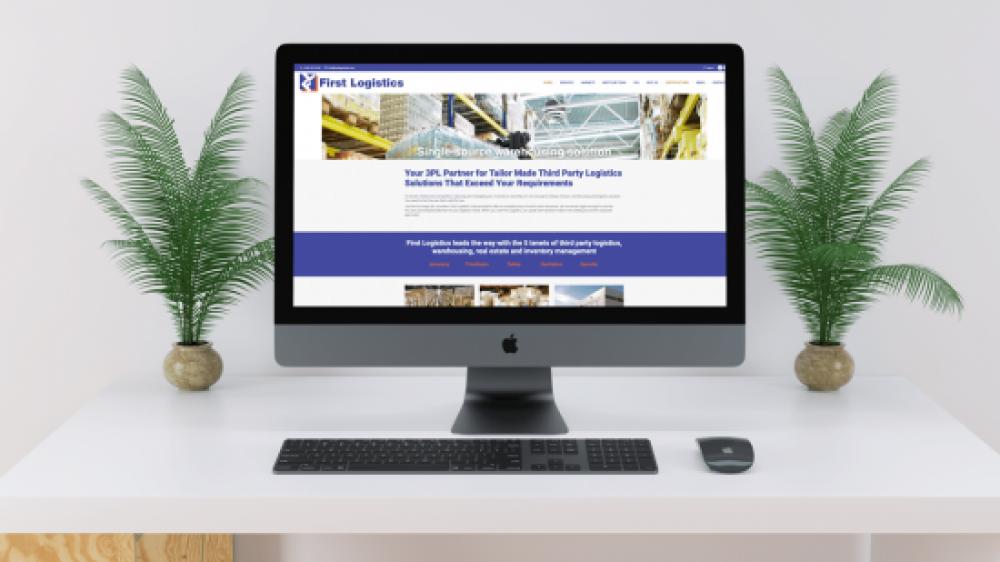 First Logistics Website Design