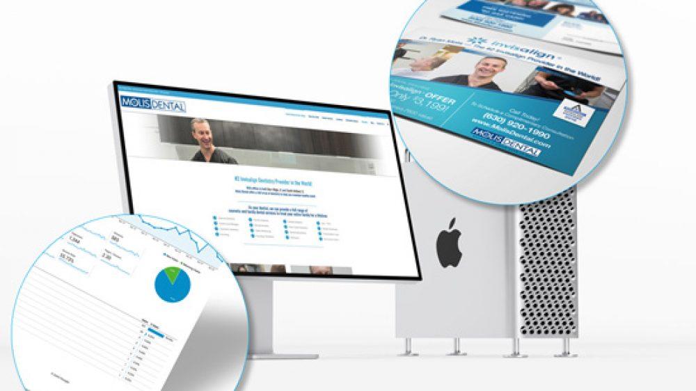 Molis Dental - Web Design
