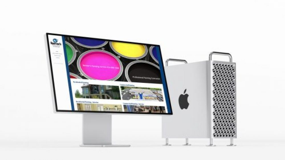 Reimer's Painting Service Mobile Friendly Website Design