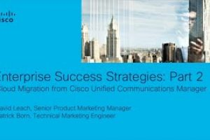 Enterprise Success Strategies With UCM Cloud, Part 2, Planning Your Cloud Migration