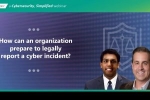 The Legal Side of Cybersecurity (with Data Security Attorney, Sid Bose)