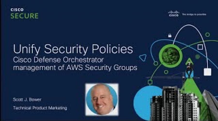 Unify security policy across hybrid networks with Cisco Defense Orchestrator
