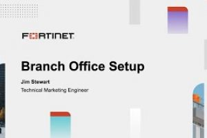 Fortinet SD-Branch Basic Setup | Product Demo