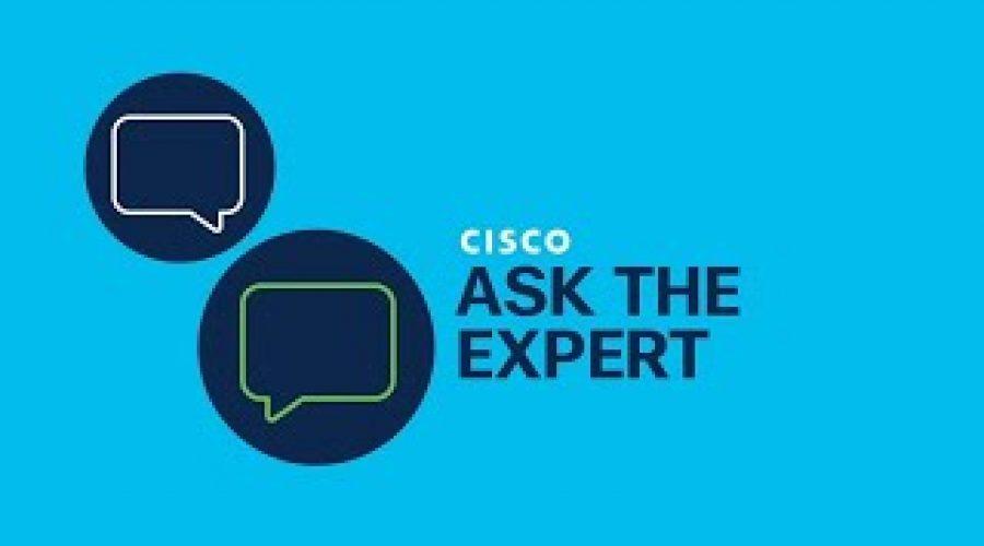Cisco DNA Center Zero-Trust Networking Ask the Expert Video