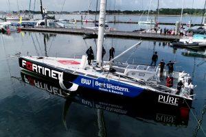 Fortinet embarks with French Skipper Romain Attanasio   Vendée Globe 2024