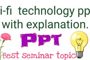 li-fi technology ppt with explanation // best seminar topic.