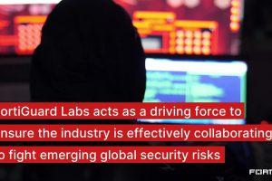Industry leading-threat intelligence   FortiGuard Labs