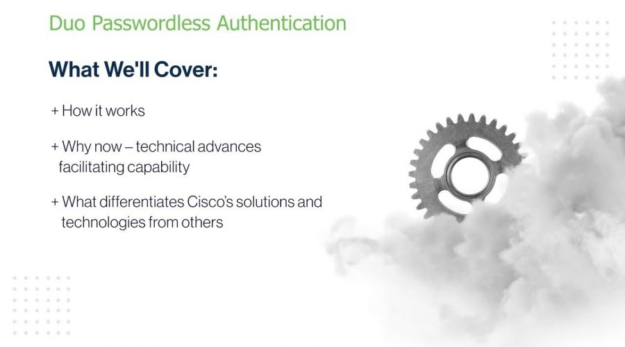 Duo passwordless authentication