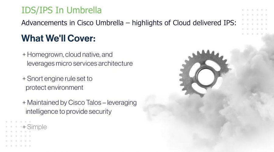 Intrusion prevention and detection in Cisco Umbrella
