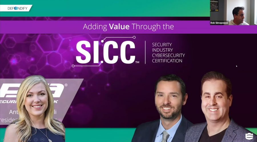 Adding Value Through the Security Industry Cybersecurity Certification (SICC)