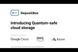 DepositBox Quantum Safe Storage