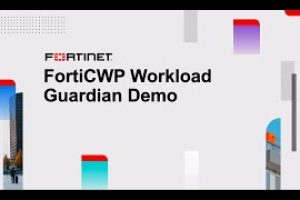 FortiCWP Workload Guardian Demo | Cloud