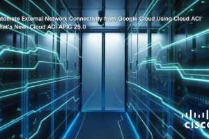 Automate External Network Connectivity from Google using Cloud ACI