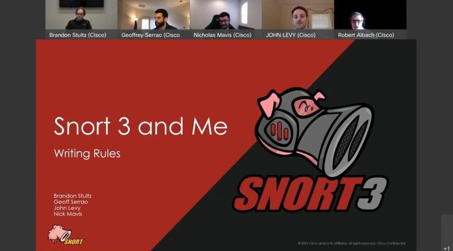 Snort 3 and Me: The Rule Writers Speak